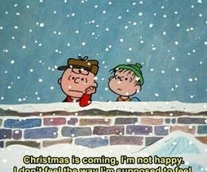 christmas, sad, and quote image