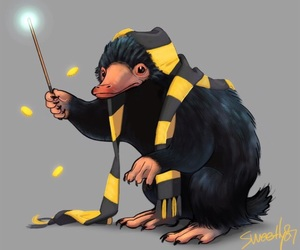 niffler, harry potter, and fantastic beasts image