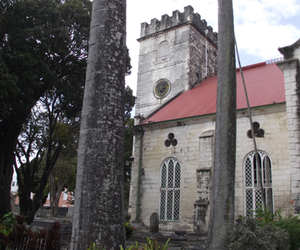 architecture, barbados, and church image