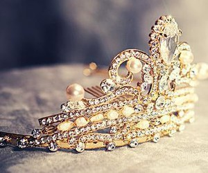 princess, crown, and tiara image