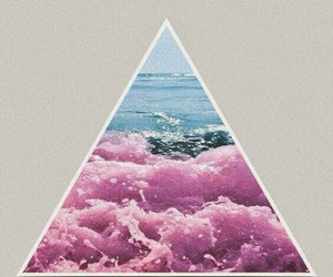 background, triangle, and cool image