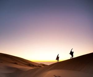 desert, dune, and ocean image