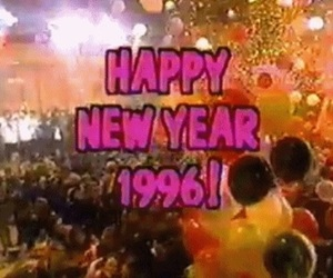 1996, 90s, and new year image