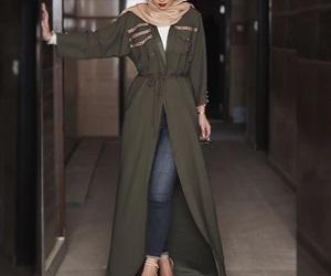 girl, hijab, and hijabfashion image