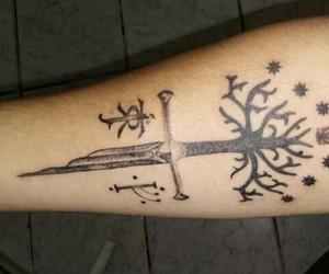 lord of the rings, tatuagem, and tatoo image