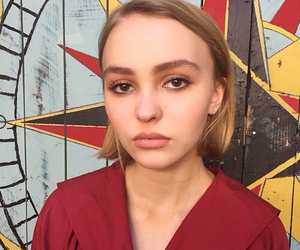 lily rose depp, indie, and retro image