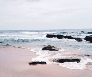 beach, ocean, and theme image