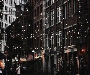 christmas, city, and theme image