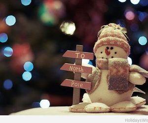 christmas, snowman, and winter image
