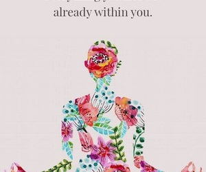 quotes, flowers, and courage image