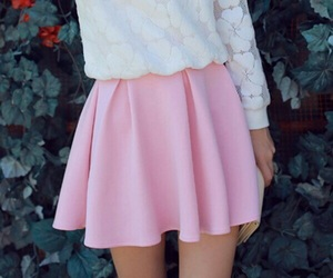 pink and skirt image