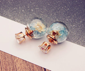 cool, jewelry, and earings image