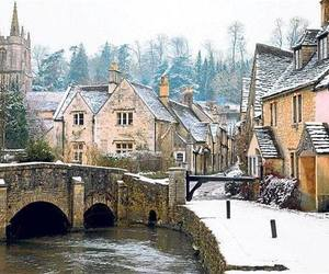 wiltshire, castle combe, and england image