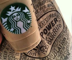 starbucks, coffee, and brown image