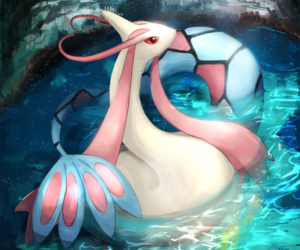 pokemon and milotic image
