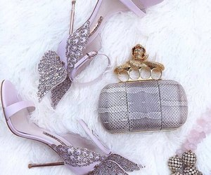 bags, luxury, and pink image