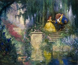 disney, picture, and the beauty and the beast image