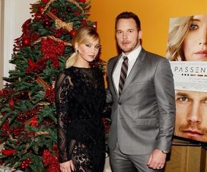 chris pratt and Jennifer Lawrence image