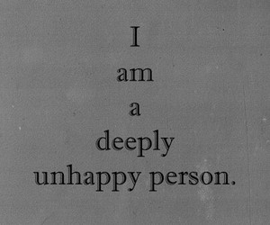 unhappy, quotes, and sad image