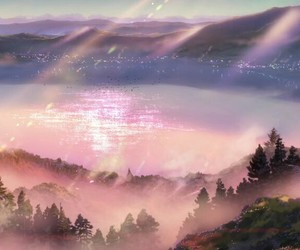 kimi no na wa and lake image