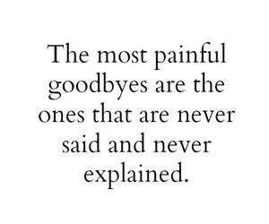 goodbye, pain, and quote image