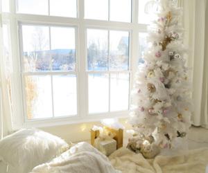 christmas, decor, and glam image