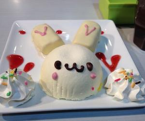 cute, dessert, and food image