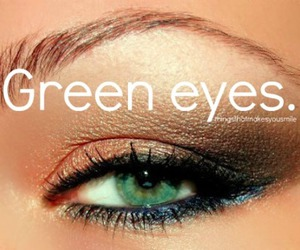 cool, green, and make up image