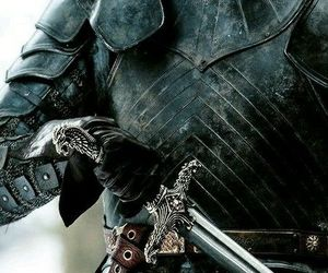 knight, sword, and fantasy image