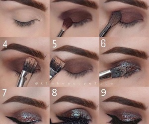 beauty, brown, and Brushes image