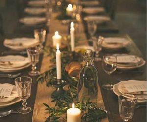 christmas and table image