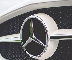 mercedes, car, and luxury image