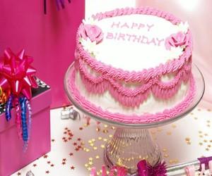 birthday, cake, and happy birthday image