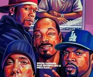 hip hop, old school, and 50 cents image