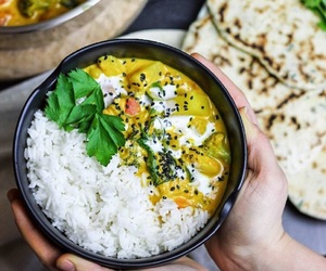 beautiful, curry, and diet image