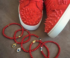louboutin, sneaker, and stylé image