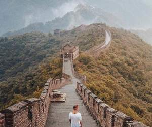 china, travel, and adventure image