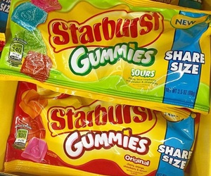 fruity, sour, and starburst image