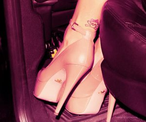 foot, heels, and rihanna image