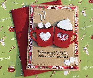 cards, christmas, and diy image