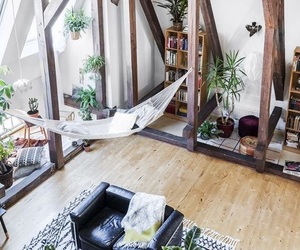 apartment, bohemian, and decor image
