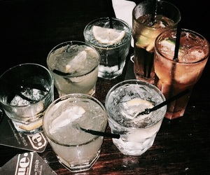 drink, alcohol, and night image