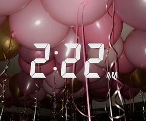 balloons, snapchat, and pink image