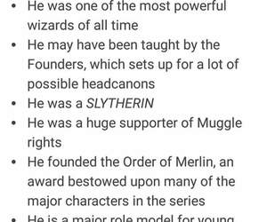 merlin and slytherin image