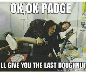 funny, padge, and jamie image