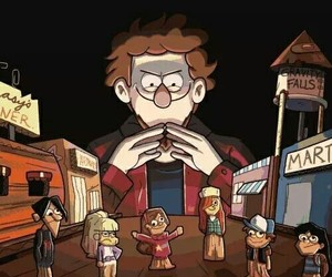 gravity falls and alex hirsch image