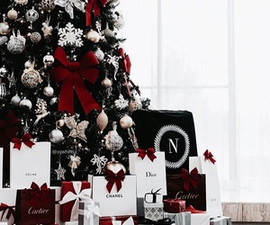 christmas, new year, and presents image