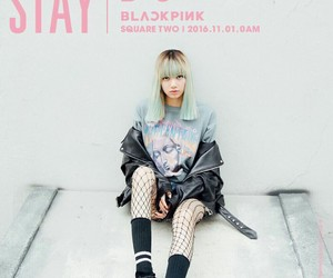 lisa, stay, and blackpink image