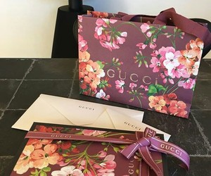 bags, gucci, and shopping image