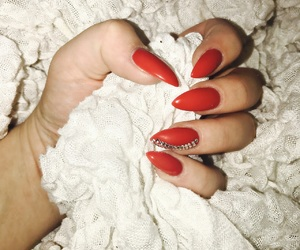nail, nails, and stiletto image